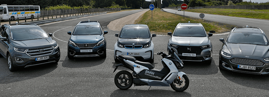 Project consortium demonstrates first European C-V2X  interoperability between auto makers
