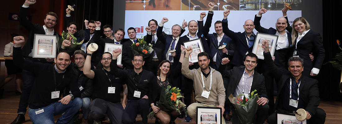 Intertraffic Amsterdam 2018 Innovation Award winners announced at packed opening ceremony
