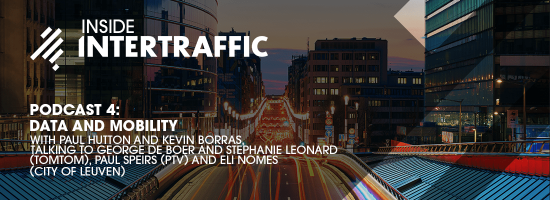 Inside Intertraffic Podcast 4: data and mobility