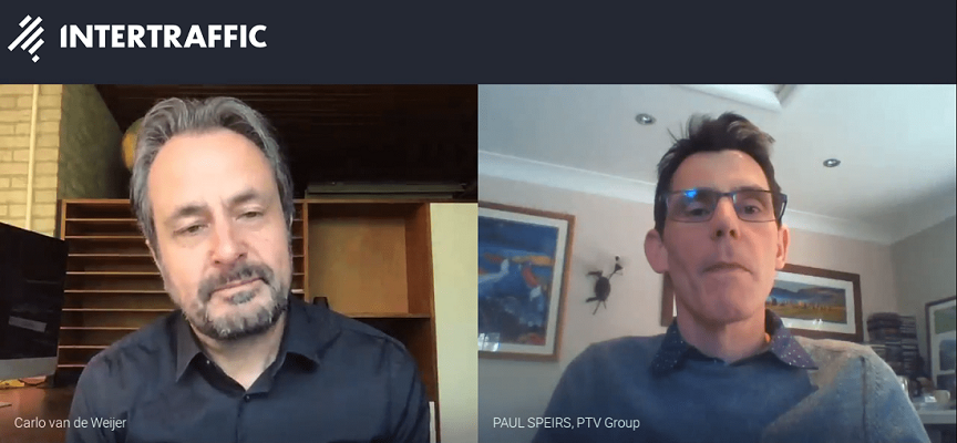 First Intertraffic webinar on the impact of COVID-19 on mobility